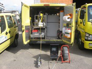 Allestimento Videoispezioni - furgone attrezzato con il miglior allestimento per servizi di videoispezione